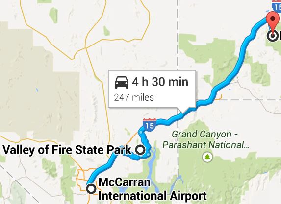 2015-02-05 16_53_37-McCarran International Airport to Northview Trail, Brian Head, UT 84719 - Google